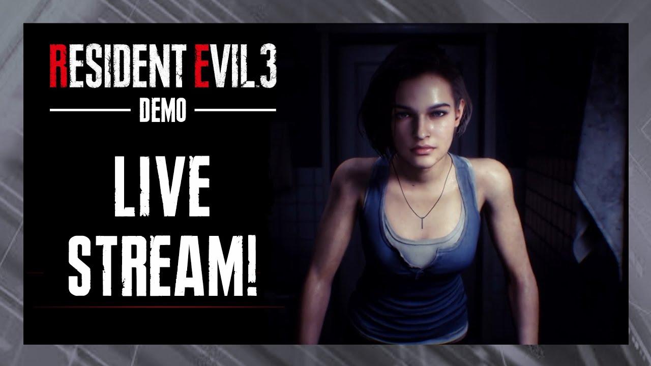 Resident Evil 3 Stream
