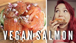 Vegan Smoked Salmon + Cream Cheese // Recipe Test