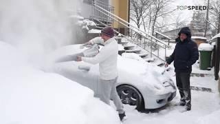 Odstrániť sneh z auta like a boss? 😎 TOPSPEED.sk