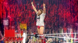 A special look back at Daniel Bryan's incredible career: Raw, February 8, 2016