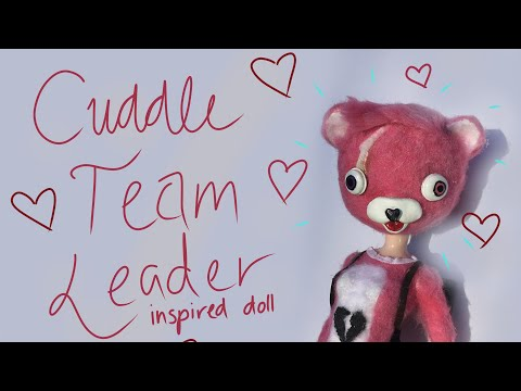 Cuddle Team Leader Inspired Doll Repaint💕