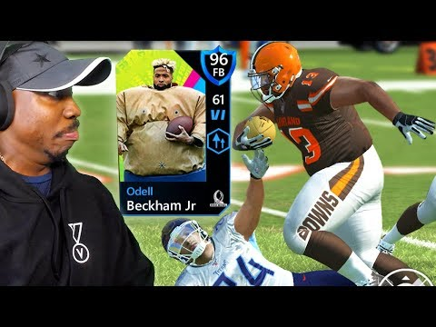 96 OVR CHUNKY ODELL BECKHAM IN PRO BOWL! Madden Mobile 20 Pack Opening Gameplay Ep. 17