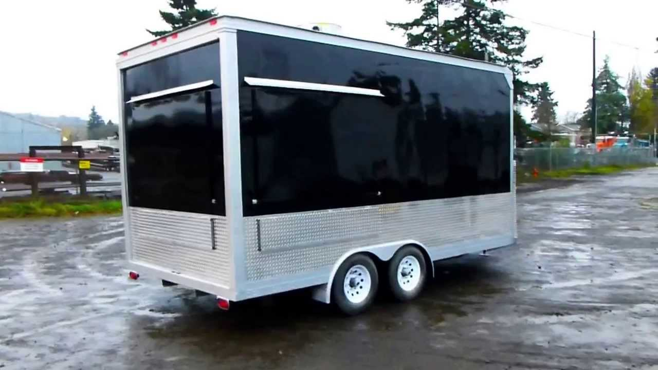 Food Concession Vending Trailer Lunch Cart