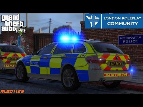 GTA5 LRPC - High Risk Escort & Drunken Assaults - British Met Police Online - London RP Community #3