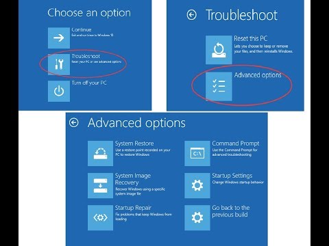 How To Fix Windows 10 Start-up Problems & Bluescrean