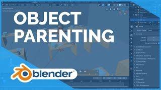 Parenting - Blender 2.80 Fundamentals