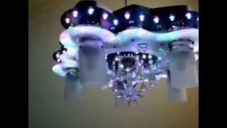 Светодиодная люстра 90766MIX/5+1H LED(Светодиодная люстра 90766MIX/5+1H LED. Купить в интернет-магазине ЛЮСТРЫСПБ : http://lustryspb.ru/katalog-tovarov/lyuctri-cvetodiodnie/lyuctra-cvet., 2015-11-30T14:23:06.000Z)