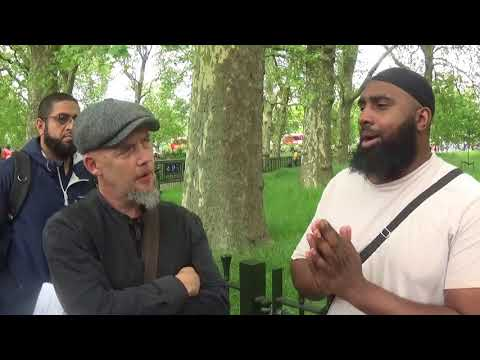 Bro Hussain debates Christian then stops a fight with Ex Sikh and Raj (Sikh)