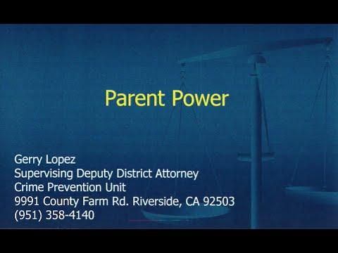 "SafeLaunch Presents: Gerry Lopez ""Parent Power"" (in Spanish)"