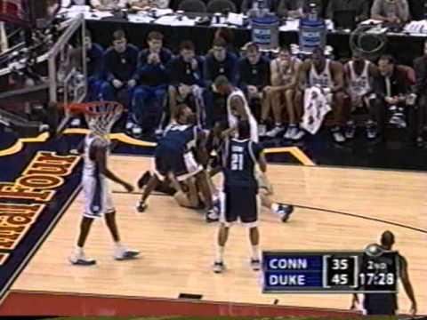2004 Final Four Duke vs  Connecticut1