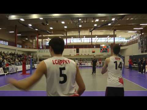 CANADA vs CUBA U21 Volleyball (20-May-2017)