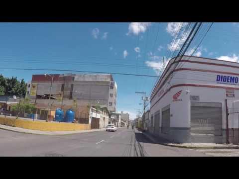 Honduras Tegucigalpa Centre ville, Gopro / Honduras Tegucigalpa City center, Gopro