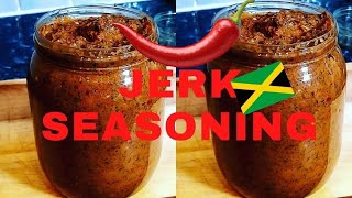 HOW TO MAKE AUTHËNTIC JERK SEASONING JAMAICA STYLE   Chef Ricardo Cooking