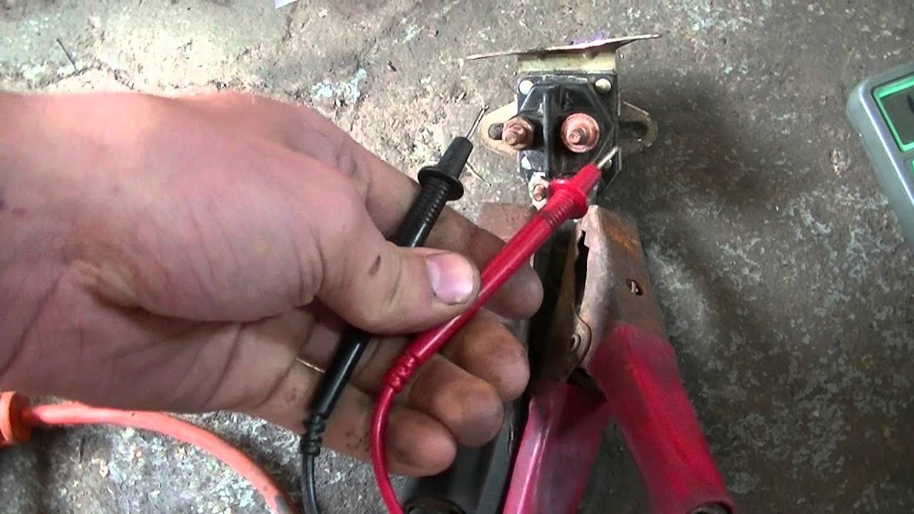 medium resolution of how to test lawn mower solenoids
