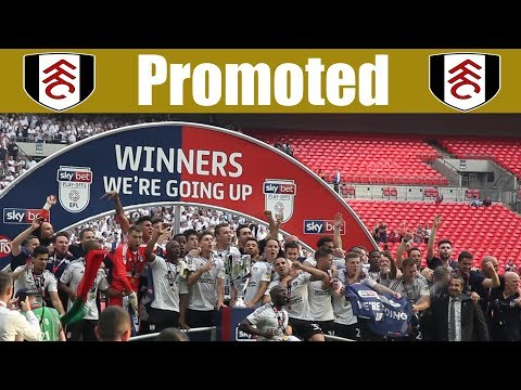 Fulham 1 Aston Villa 0 | A Special Day | Play-Off Final (Wembley)