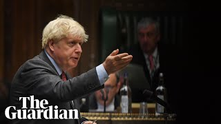 Boris Johnson outlines tighter Covid rules for England
