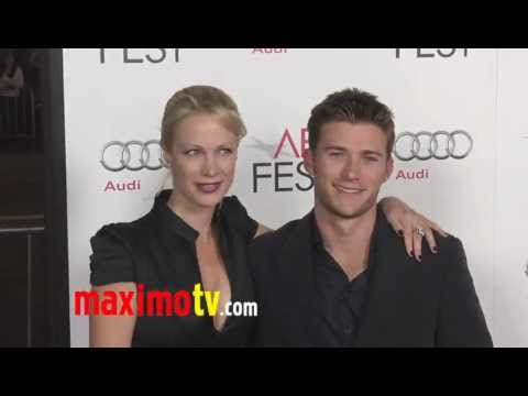 Alison Eastwood and Scott Eastwood at