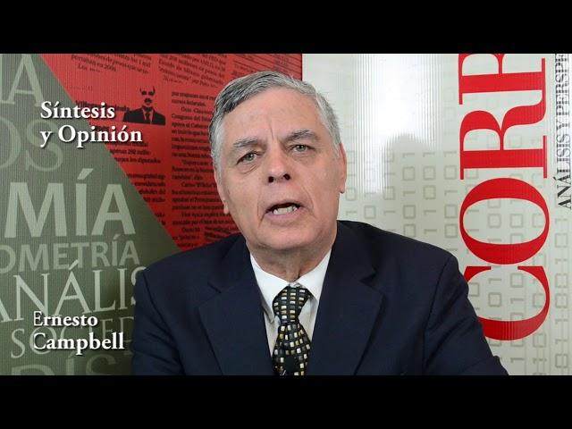 Ernesto Campbell (Más presupuesto a Relaciones Exteriores)