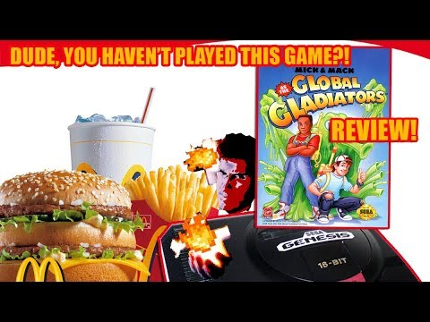 Dude, You Haven't Played This Game?! Global Gladiators (Genesis) Review