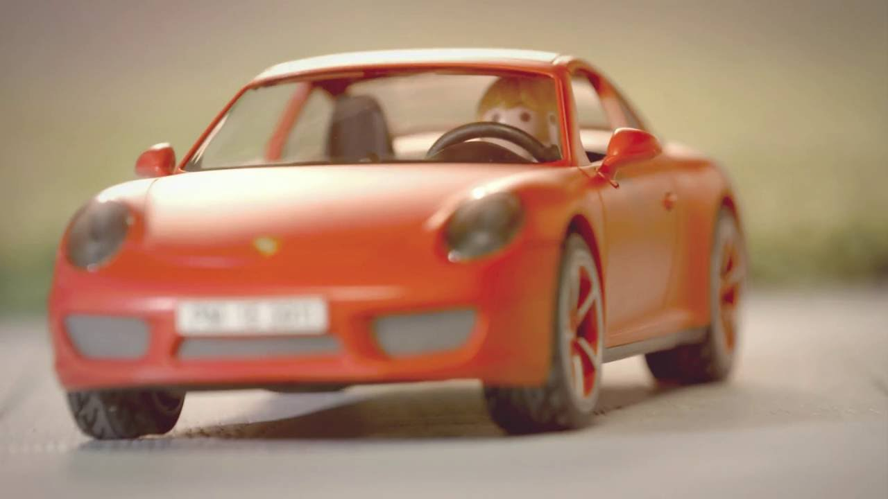 playmobil porsche 911 carrera s youtube. Black Bedroom Furniture Sets. Home Design Ideas