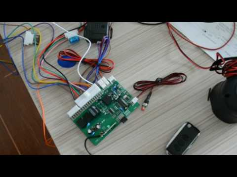 common car alarm system auto arm enabled or disabled method introduction