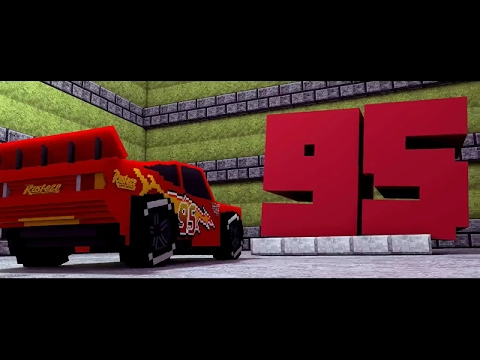 Thumbnail: Cars 3 -Extended Look (Minecraft Re-make Animation)