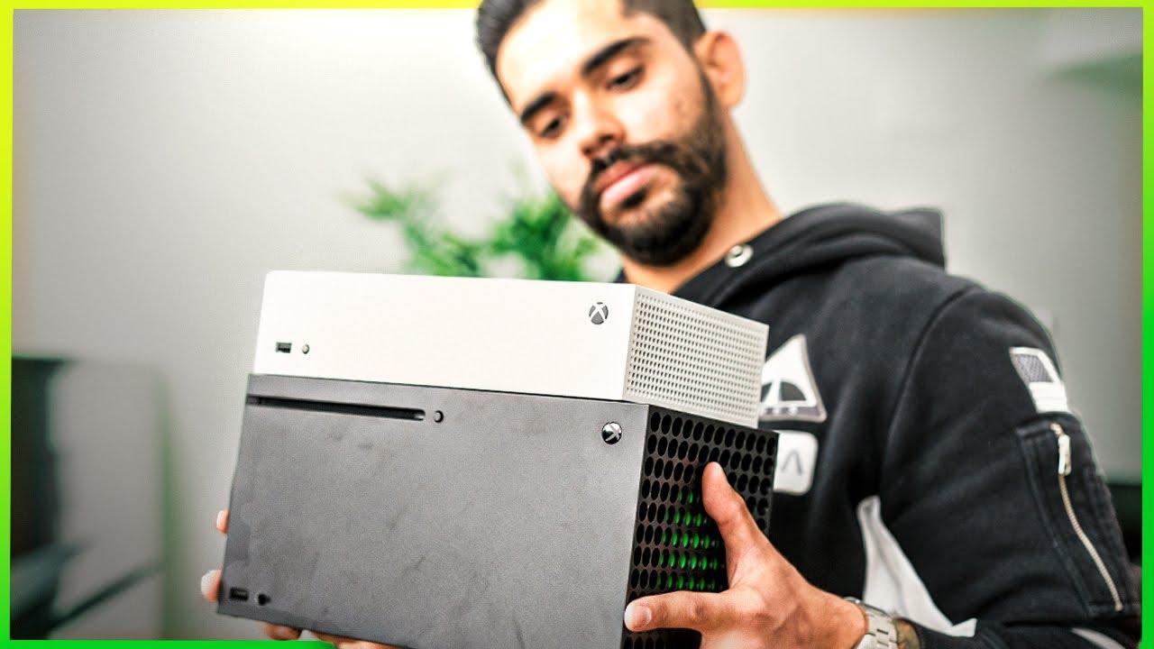 Xbox Series S, ¡UNBOXING y VS SERIES X!