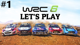 WRC 6 Career Mode #1 My WRC Journey Begins!!