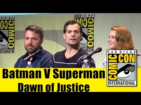 Batman V Superman Dawn of Justice | Comic Con 2015 Panel (Ben Affleck, Henry Cavill, Gal Gadot)