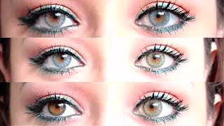=Review= Desio Italian Contact Lenses for Dark Eyes Thumbnail