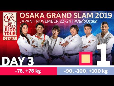 Judo Grand-Slam Osaka 2019: Day 3 Tatami 1