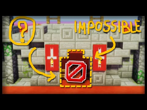 The IMPOSSIBLE Minecraft GATE (Command Block Tutorial)