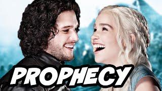 Game of thrones season 6 jon snow daenerys azor ahai prophecy