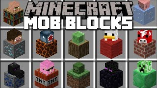 Minecraft ORE MOBS MOD / MAKE MOBS OUT OF ORES AND FIGHT THEM!! Minecraft