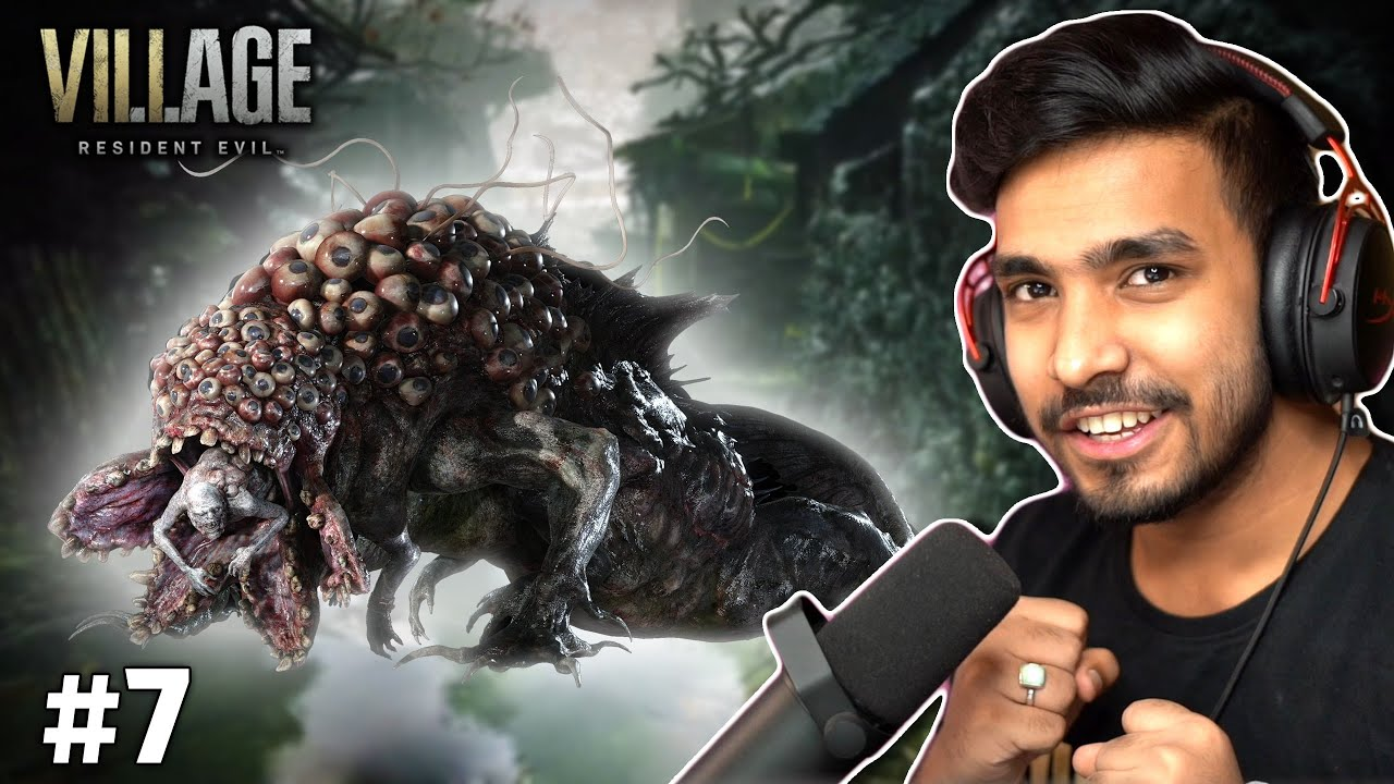 Download THE GIANT FISH MAN BOSS FIGHT   RESIDENT EVIL VILLAGE GAMEPLAY #7