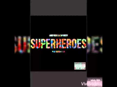 Chief Keef ft. A$AP Rocky - Superheroes (Clean)