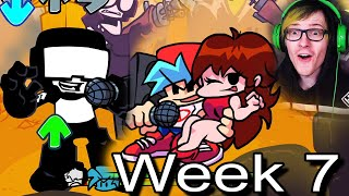 Friday night funkin' week 7 is here and there's cutscenes