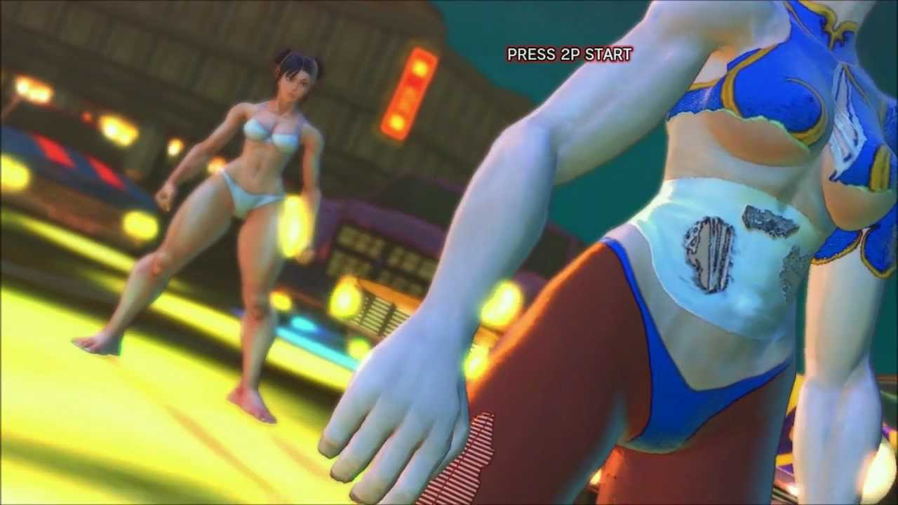 Street fighter 2 chun li vs vega uncensored hd - 2 7