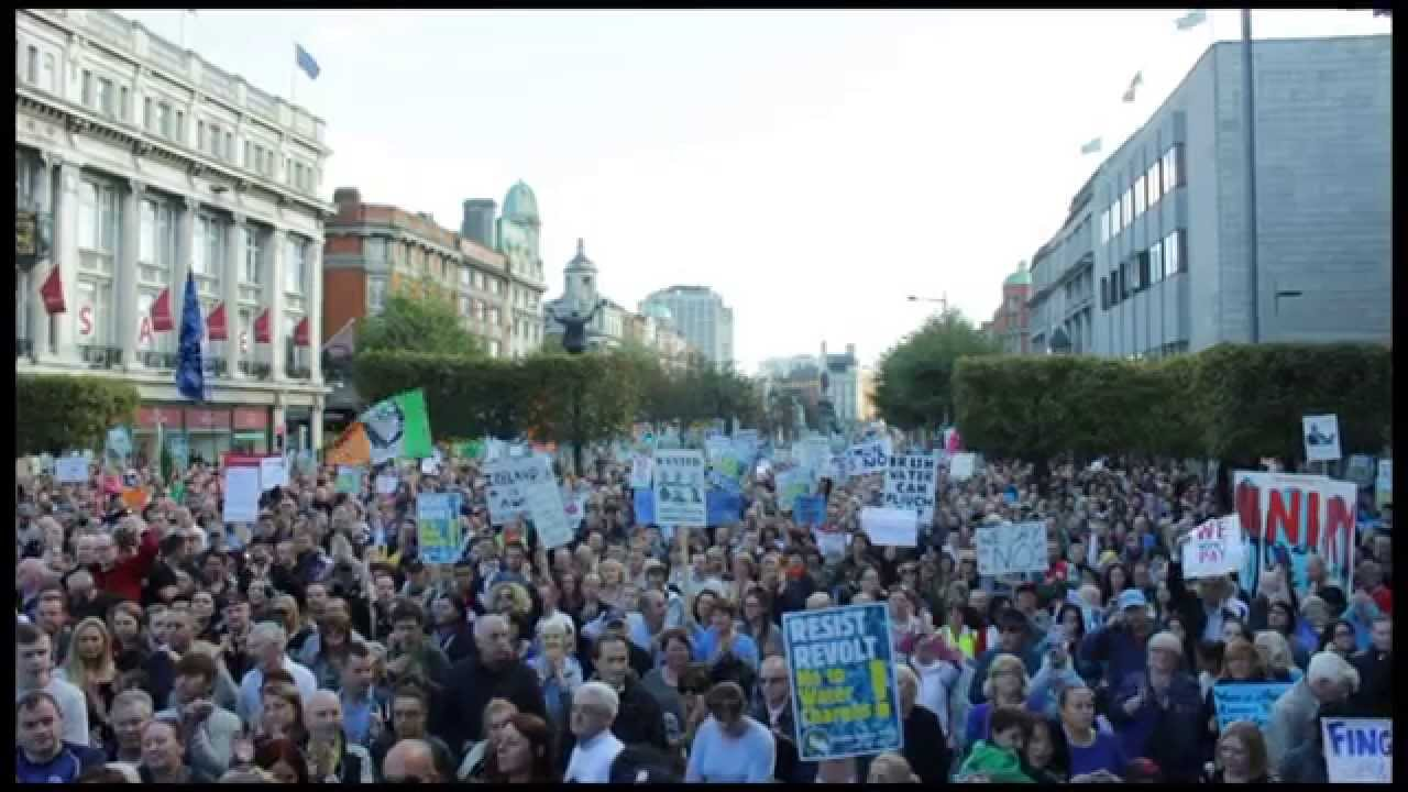 Irish Water: Protests Against Irish Water Charges