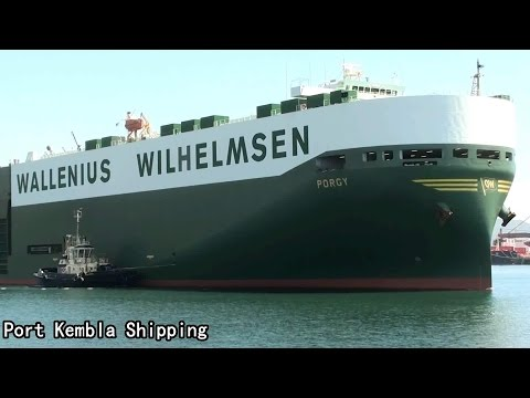 PORGY Port Kembla Departure (2014.11.21) PKS