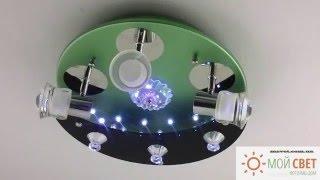 Люстра светодиодная с пультом ДУ(, 2016-04-25T09:59:10.000Z)
