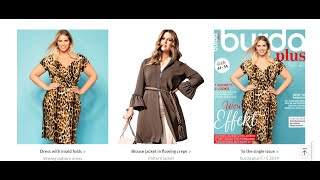 Burda Plus 2019 F/S 2019 FULL Preview & LINE DRAWINGS