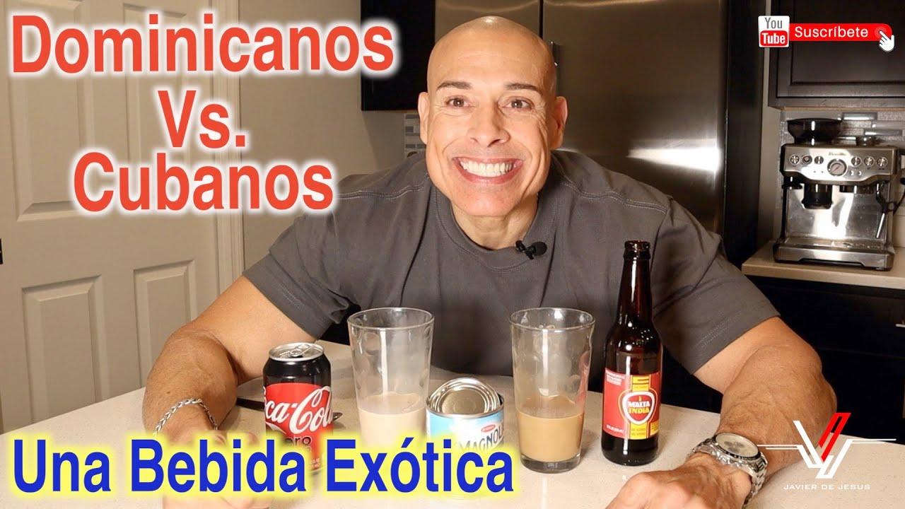 Leche Condensada Con Malta o Coca Cola - Cuba Vs Republica Dominicana