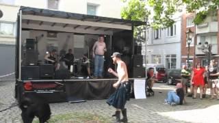 Die Kassierer - Schiffchen + Älterer Herr unplugged in Duisburg 19.08.2012