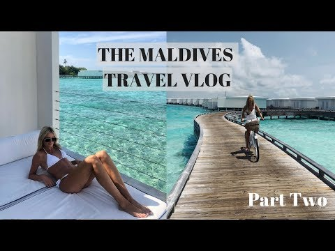 The Maldives Travel Vlog - Part 2 | Louise Cooney