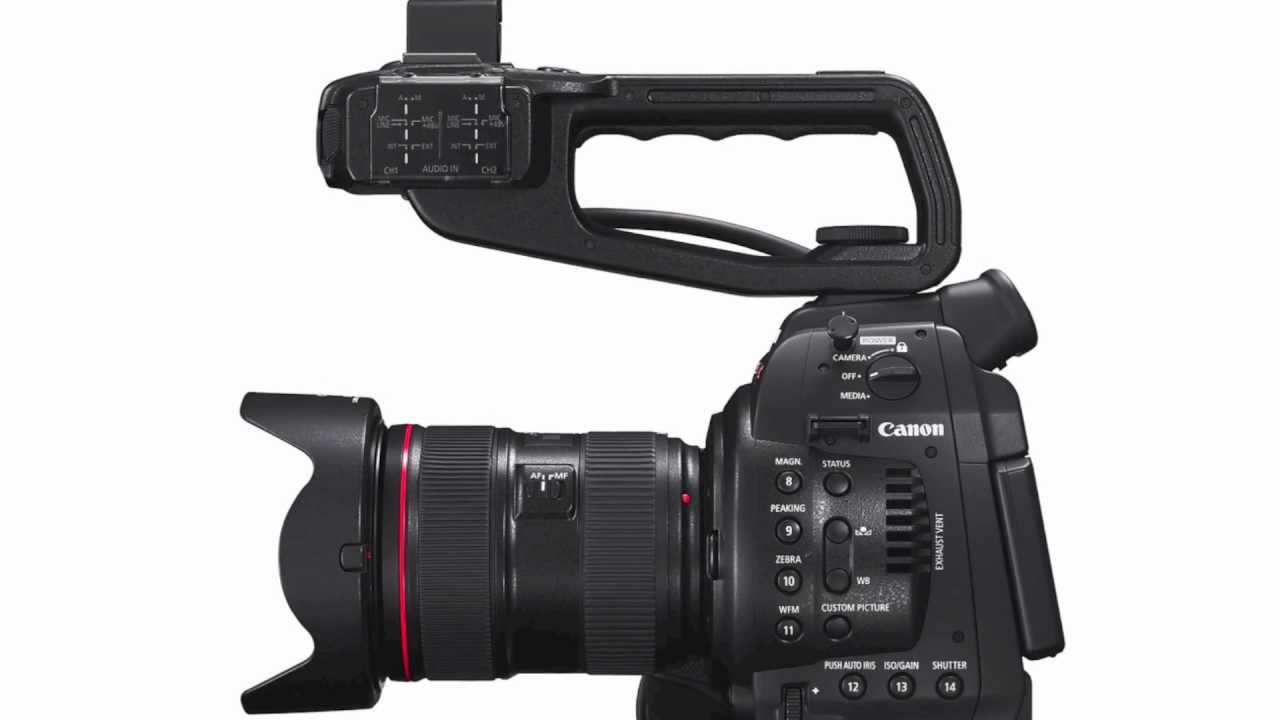 Canon EOS C100 Digital Video Camera - YouTube