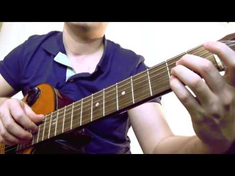 How to play Five Hundred Miles on guitar - Justin Timberlake (rhythm guitar)