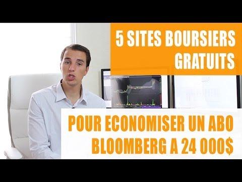 5 sites boursiers pour économiser un abonnement Bloomberg à 24 000$