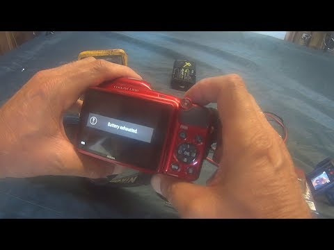 Camera Not Working Battery Exhausted  Troubleshoot