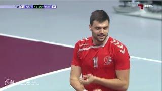 الشوط الأول | لخويا 36 - 33 نادي قطر | الدوري الوطني لكرة اليد16/15
